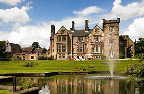 Golf breaks to Breadsall Priory Marriott Hotel, Derby